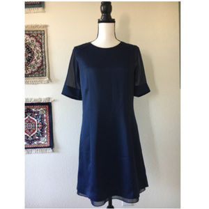🌵Marc NY Navy Blue Work Career Dress Sz 4